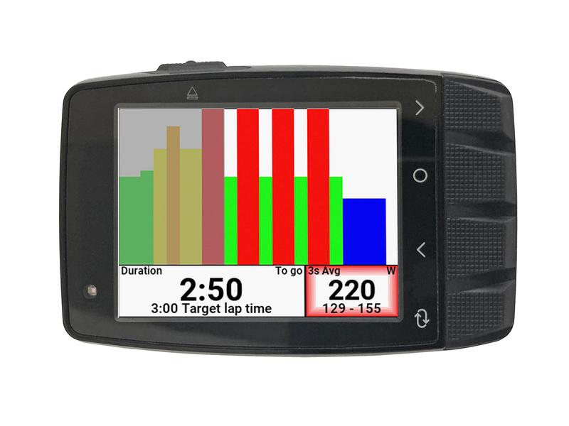 Stages Dash M50 GPS - Profi cyklocomputer