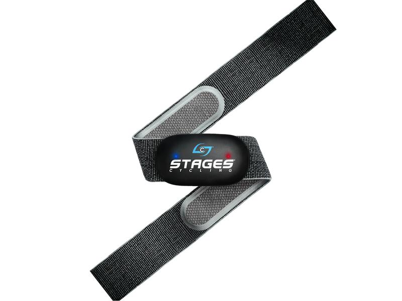 STAGESPULSE hrudní pás s LED diodami - ANT+ Bluetooth Smart pro dvě zařízení naráz