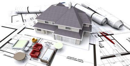 Projekce staveb
