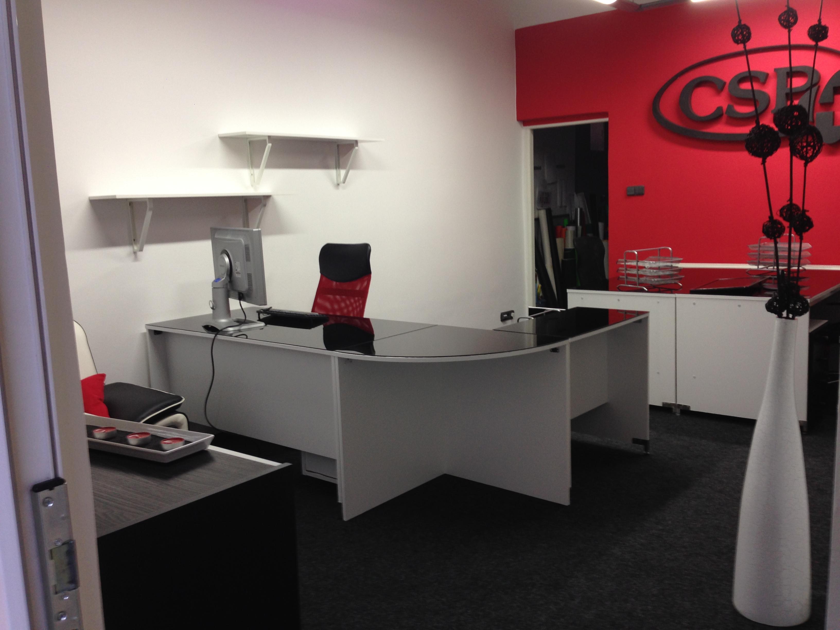 Modernizace kanceláře tiskového studia