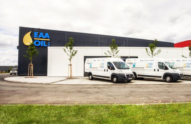 Sídlo firmy EAA-OIL, s.r.o.