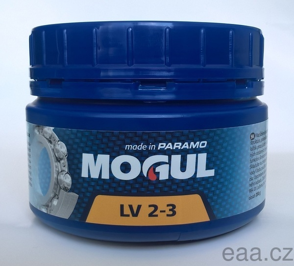 Plastické mazivo MOGUL LV 2-3