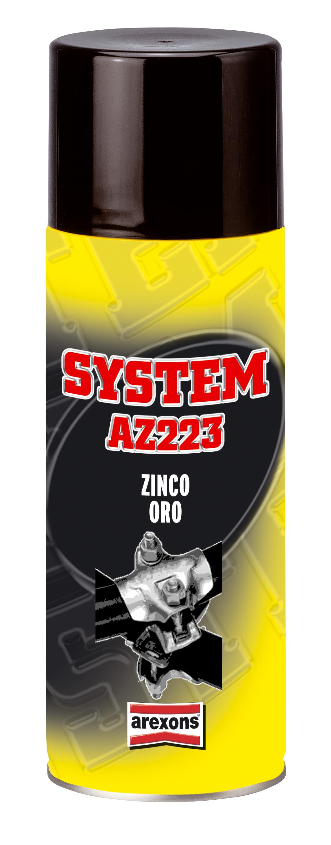 AZ223 - Gold Zinc (Pozinkování do zlatova)