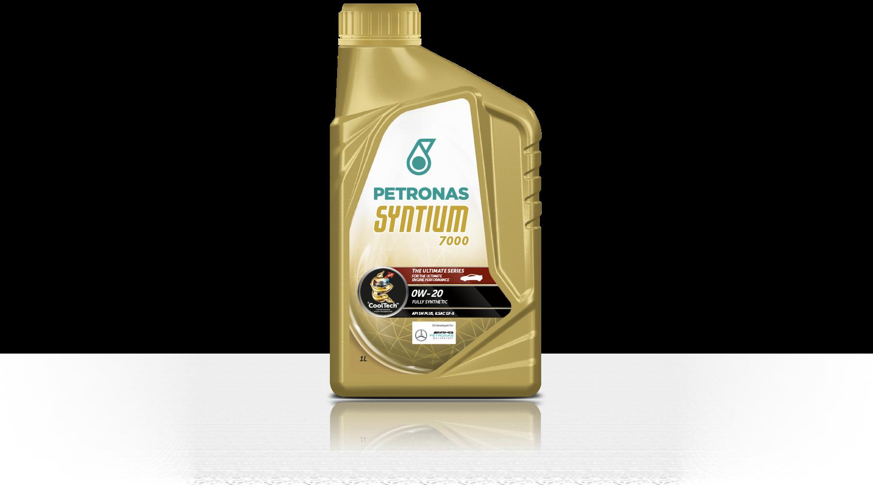 Motorový olej Syntium 7000 0W-20 1 l