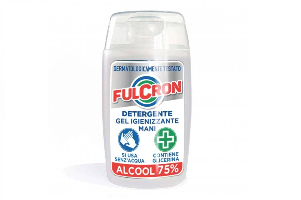 Fulcron - antimikrobiálny čistiaci gél na ruky 100 ml