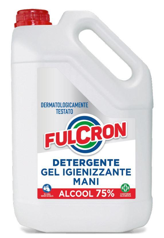 Fulcron - antimikrobiálny čistiaci gél na ruky 5 l