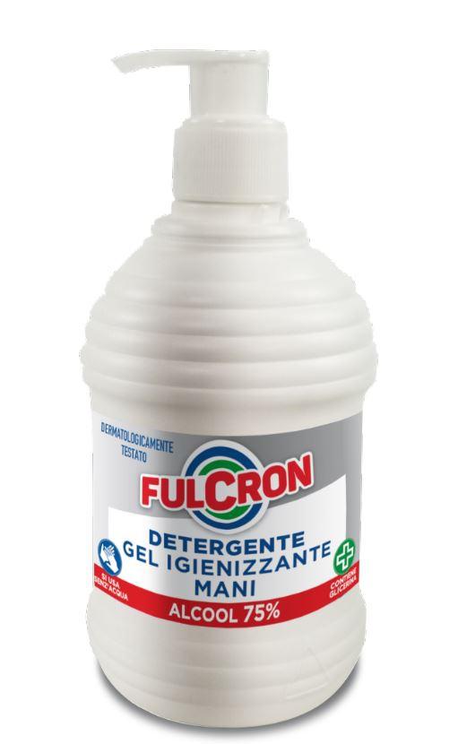 Fulcron - antimikrobiálny čistiaci gél na ruky 500 ml