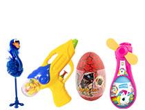 Zabawki z cukierkami