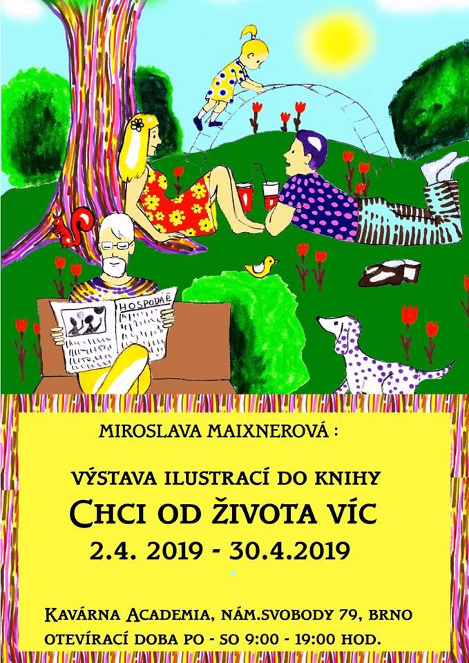 Výstava ilustrací ke knize