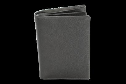 Černá pánská kožená dokladovka