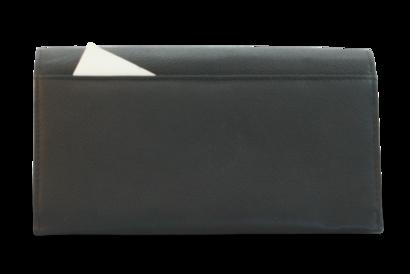 Kožená číšnická peněženka s přehlednou kapsou na mince