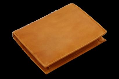 Světle hnědá pánská kožená peněženka - dokladovka