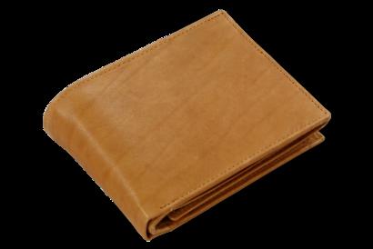 Světle hnědá pánská kožená peněženka s vnitřní zápinkou