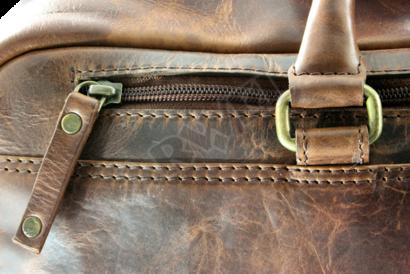 Luxusní cestovní kožená taška