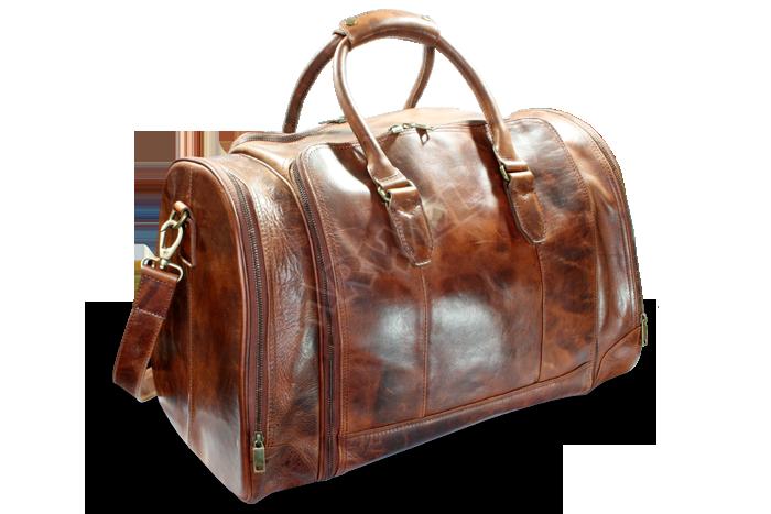 Kožená cestovní taška luxusní Arwel 217-3112-47 s kapsou na notebook ... eb20337779c