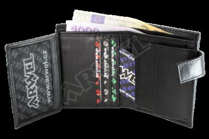 Černá dámská peněženka se zápinkou