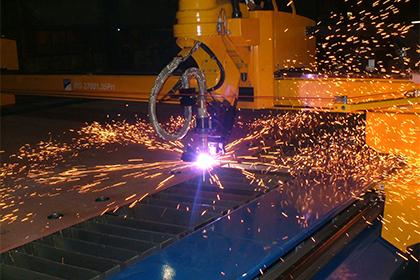 CNC Vypalování plechů