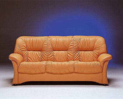 Kožená sedačka Nicol 3 - sed