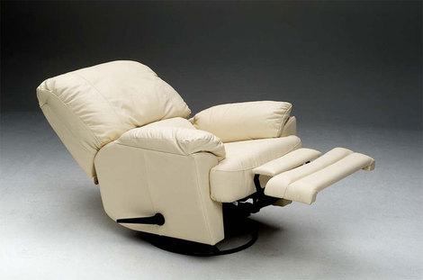 SHERATON polohovací, otočné křeslo recliner