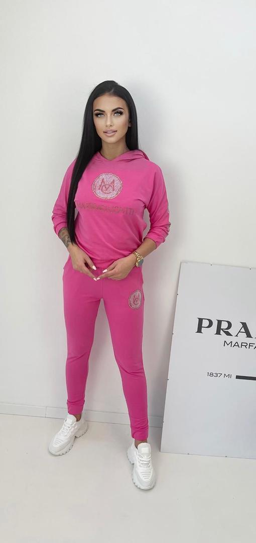 Luxusní růžová souprava Massimo Conti vel. L