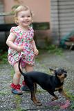 Jak nosí mikešky malé děti?