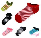 Podzimní sleva na všechny kotníkové ponožky s krajkou!