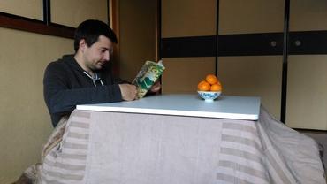 Kotacu a mandarinky - japonská zima začíná