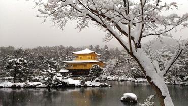 Jak napadl sníh aneb Zima v Kjótu, co se jen tak nevidí
