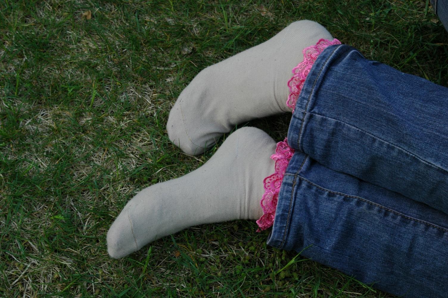 Mikešky v nohavicích