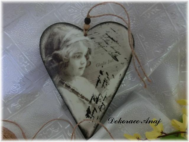 Srdce Vintage I