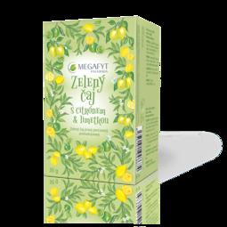 Zelený čaj s citrónem & limetkou