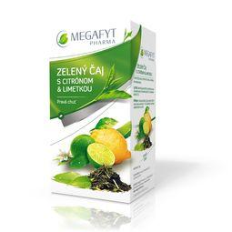 Zelený čaj s citrónom a limetkou