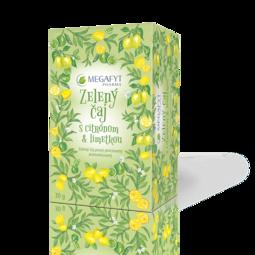 Detail výrobku Zelený čaj s citrónom a limetkou