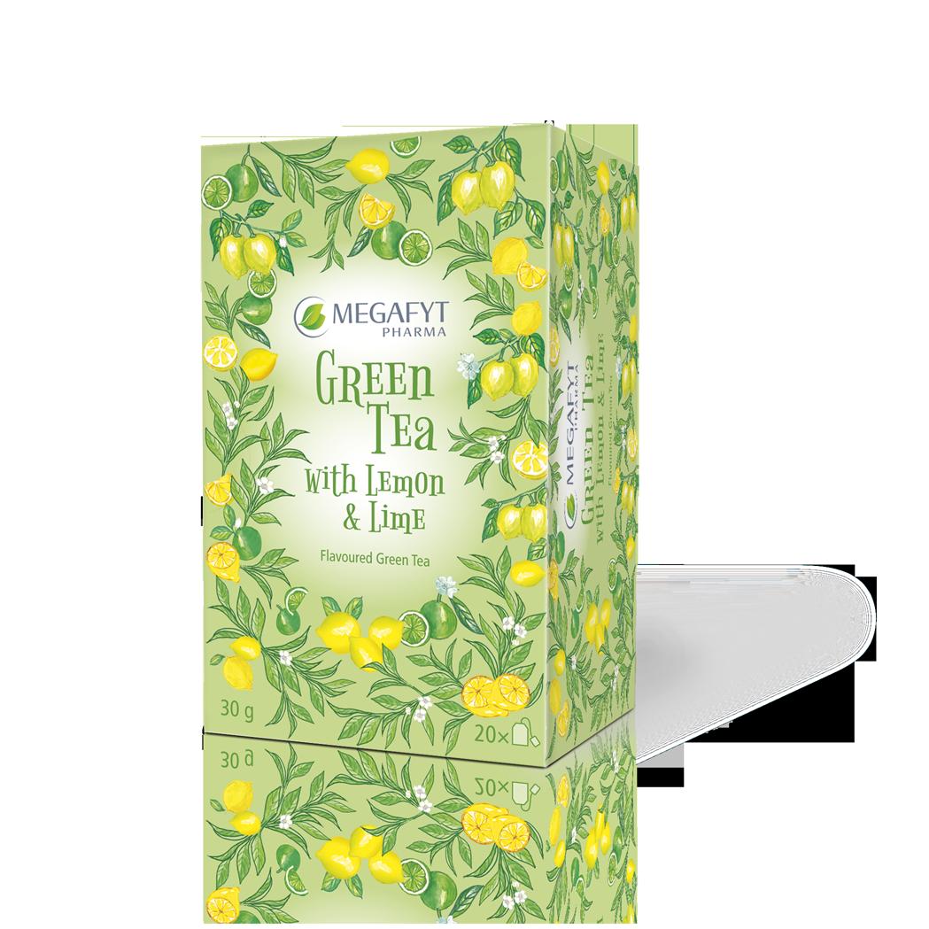 Více informací o výrobku Green tea with Lemon & Lime