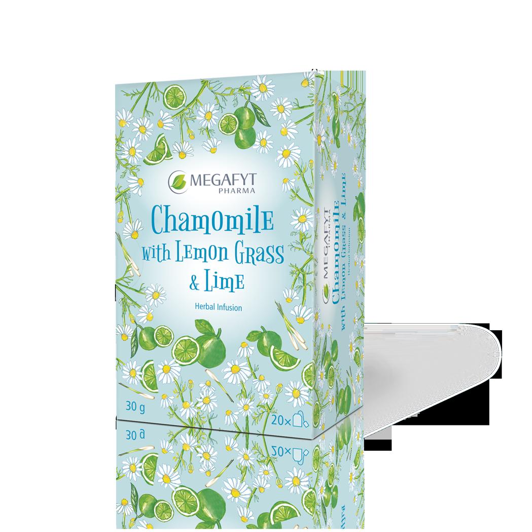 Více informací o výrobku Camomile with Lemon grass & Lime