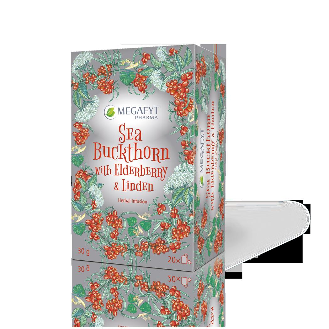 Více informací o výrobku Sea Buckthorn and Elderberry & Linden