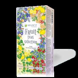 Fruit teas selection
