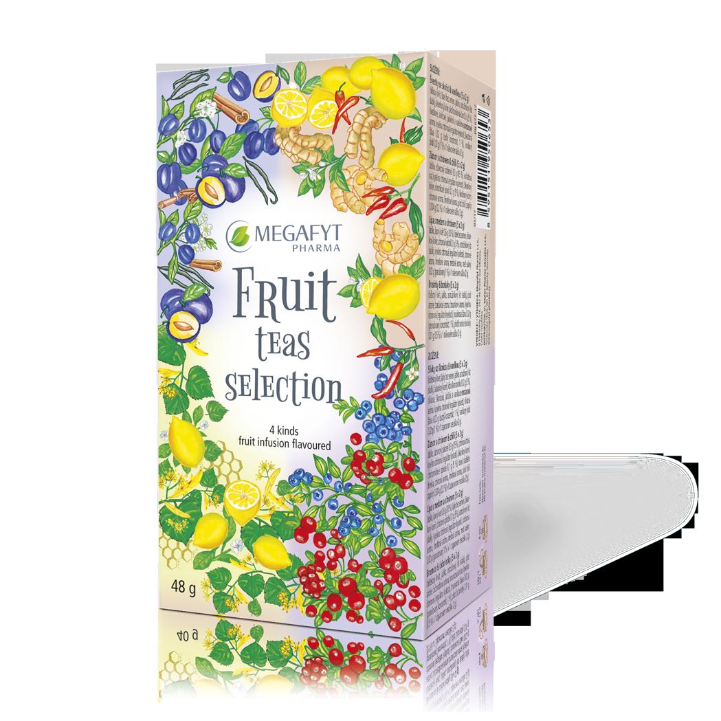 Více informací o výrobku Fruit teas selection