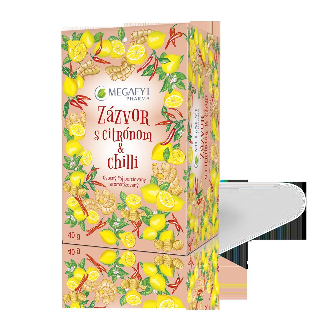 Detail výrobku Zázvor s citrónom & chilli