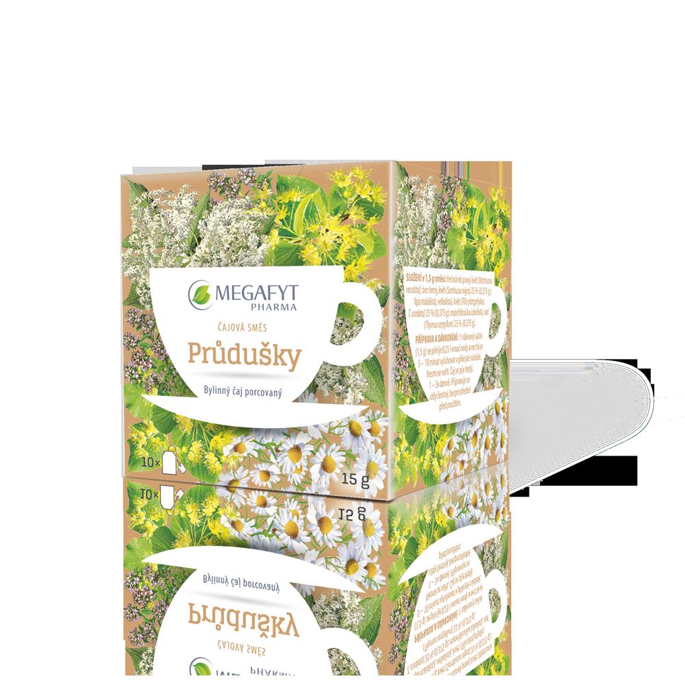 Více informací o výrobku Čajová směs PRŮDUŠKY