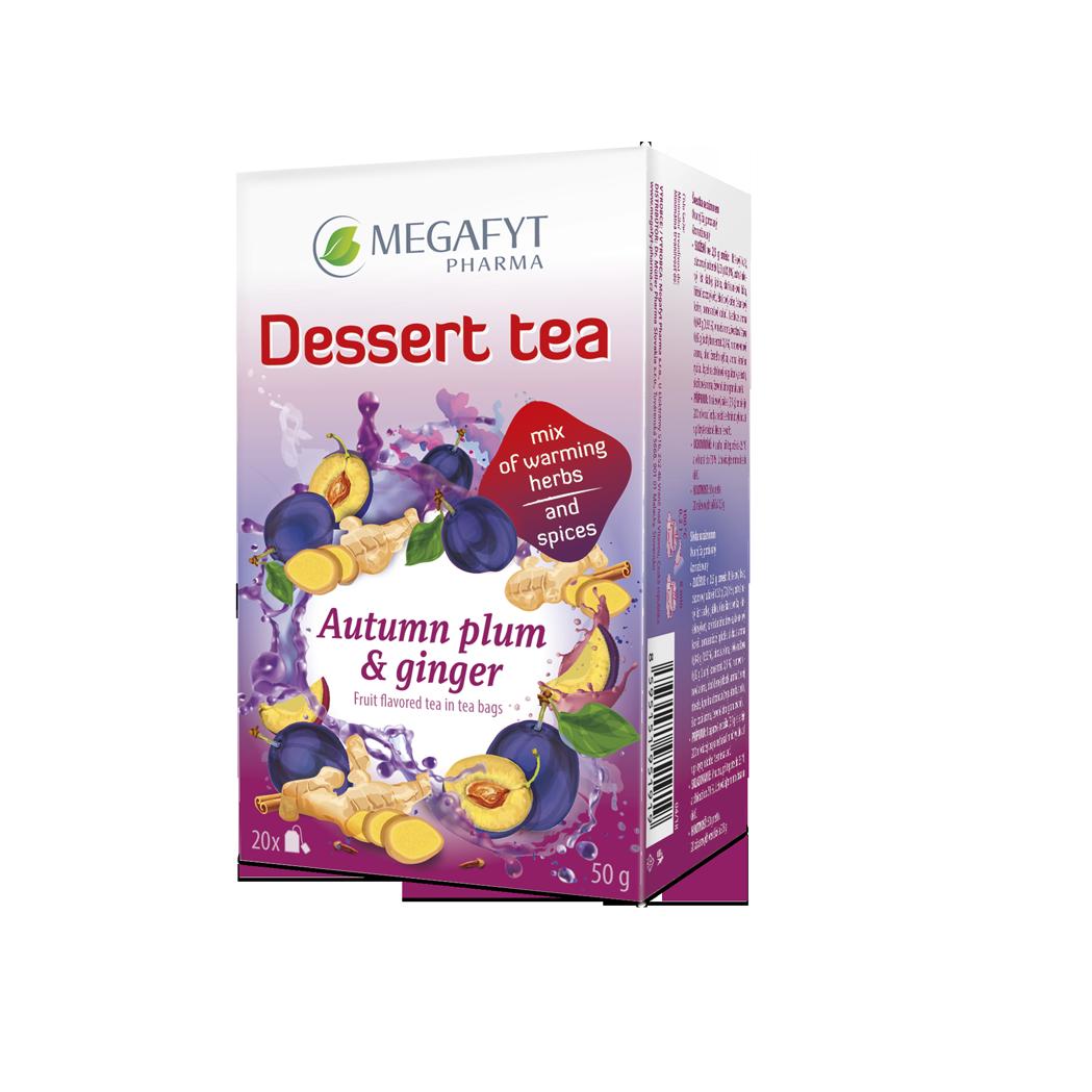 Více informací o výrobku Dessert tea Autumn plum & ginger