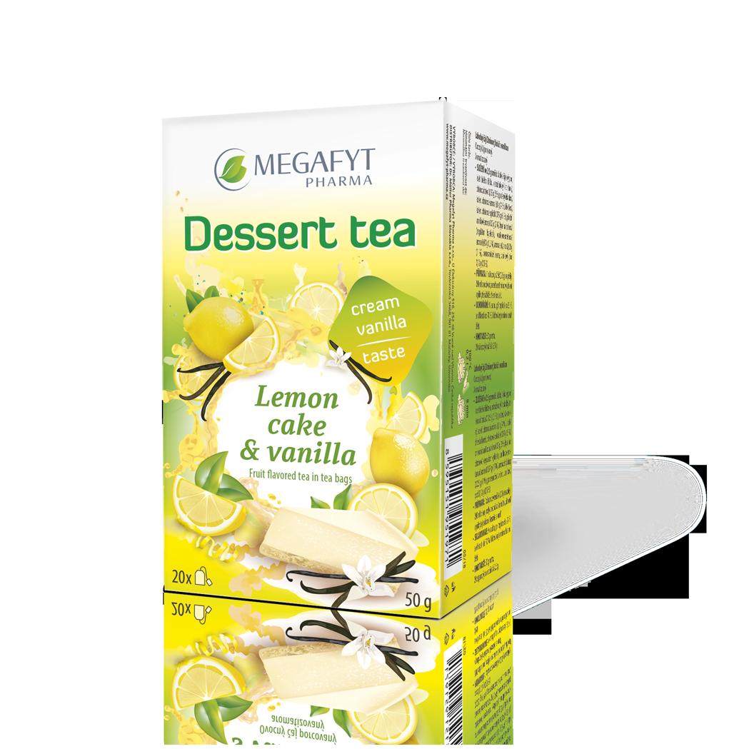 Více informací o výrobku Dessert tea Lemon cake & vanilla