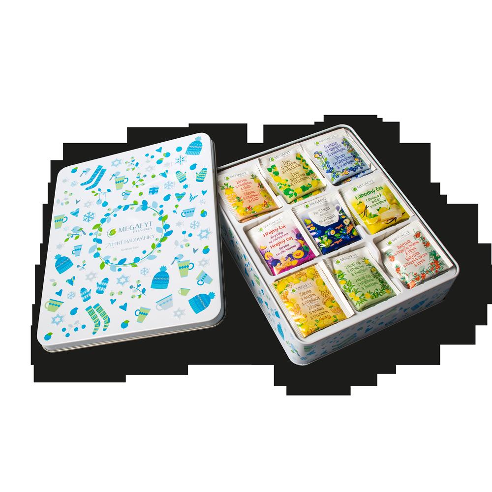 Detail výrobku Kolekce čajů Zimní radovánky