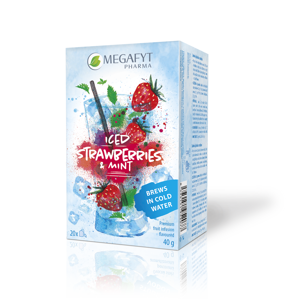 Více informací o výrobku Iced strawberries & mint