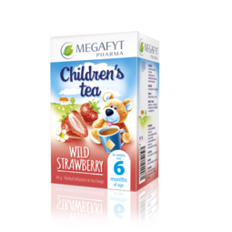 Children's tea wild strawberry