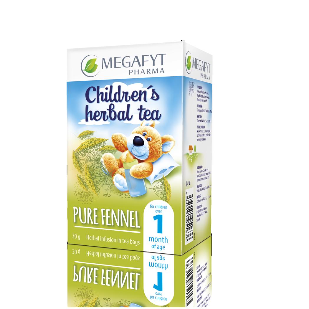 Více informací o výrobku Herbal infusion Fennel for children