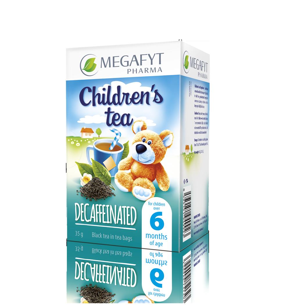Více informací o výrobku Children's caffeine-free black tea