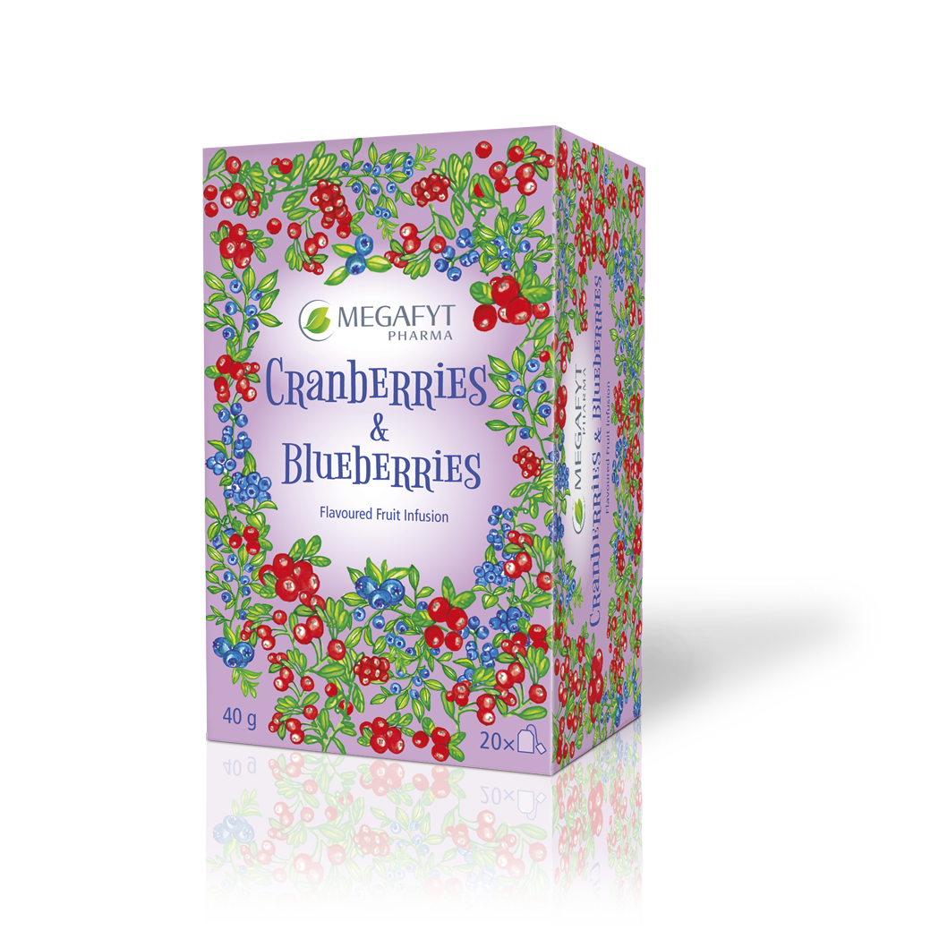 Více informací o výrobku Cranberries & Blueberries