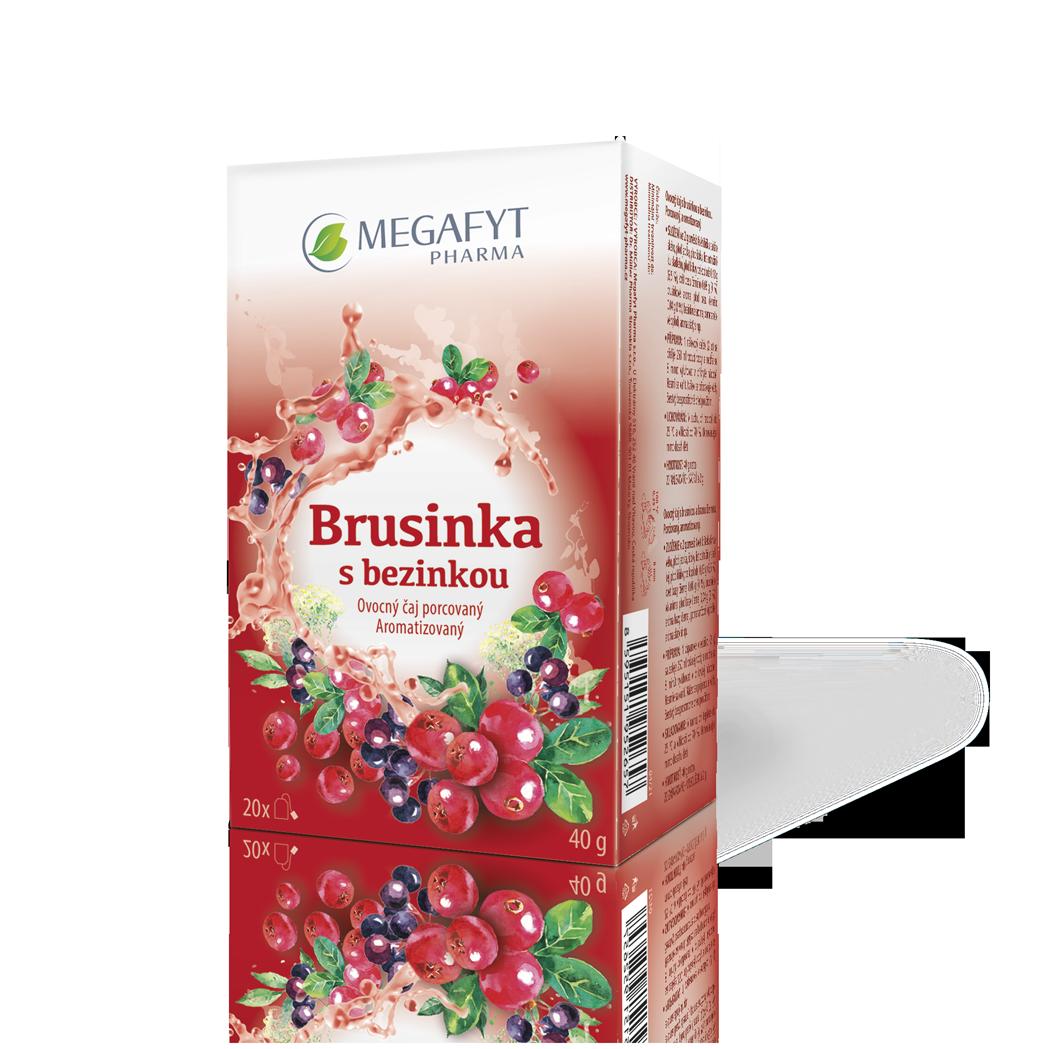 Více informací o výrobku Brusinka s bezinkou