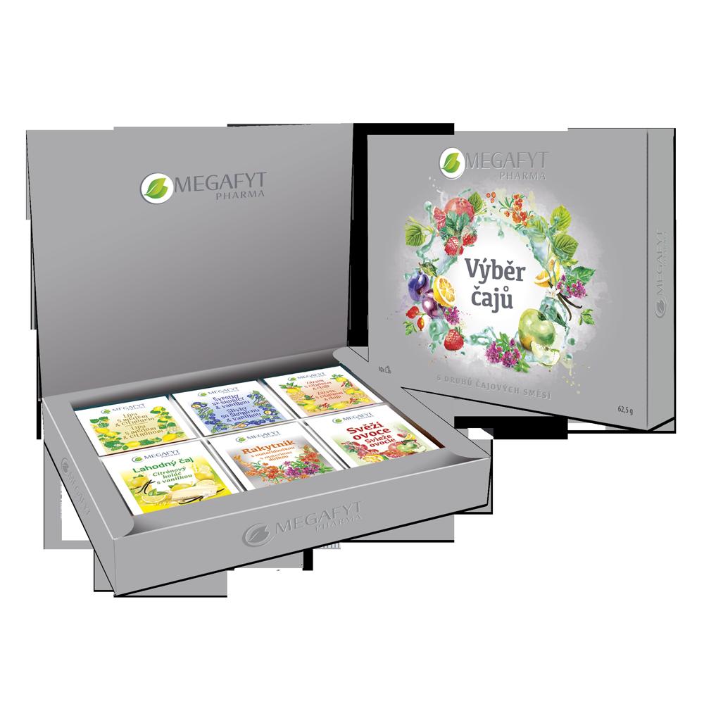 Více informací o výrobku Výběr čajů